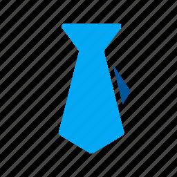 business, cloth, men, tie, work icon