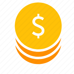 business, cash, coins, dollar, money, payment icon