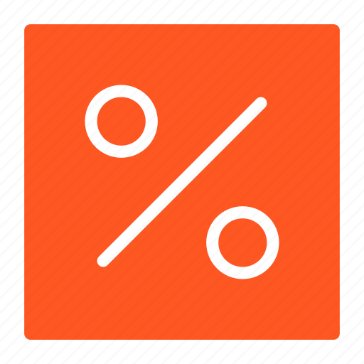 business, margin, percentage, profit, rate icon