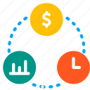 balance, business, plan, relation, share icon