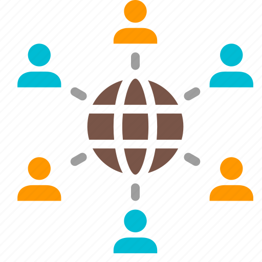 Business, connection, network, organization, relation, structure icon - Download on Iconfinder