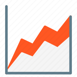 analytic, area, business, chart, data, report, statistic icon