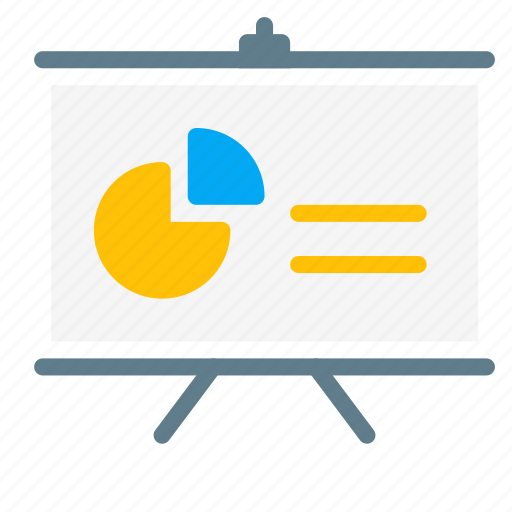analytic, board, business, chart, presentation, report icon