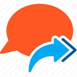 all, bubble, chat, conversation, message, reply, talk icon