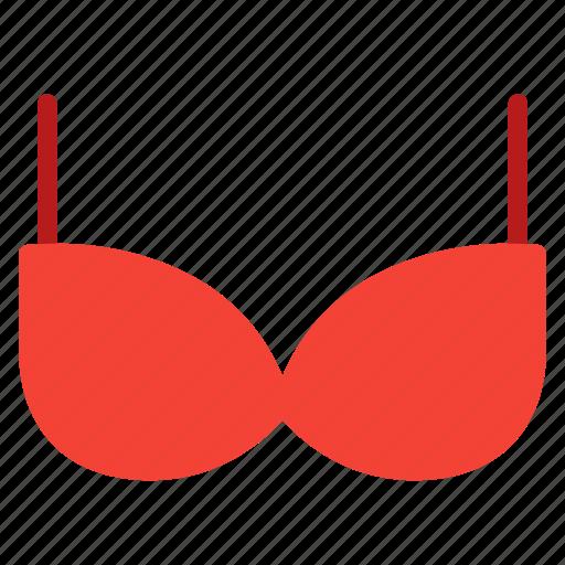 bra, clothes, undergarment, underwear, women icon