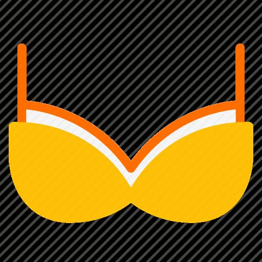 Bra, clothes, undergarment, underwear, women icon - Download on Iconfinder