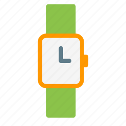 accessory, clothes, fashion, time, watch icon