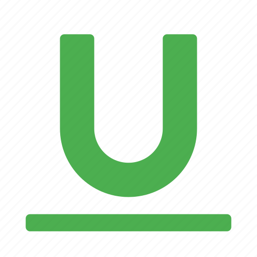 content, editor, style, text, type, underline icon