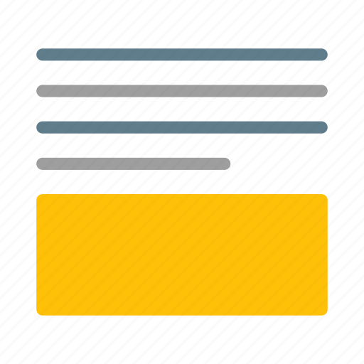below, content, editor, layout, paragraph, text, wrap icon
