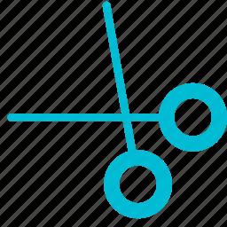content, cut, edit, editor, remove, scissors icon