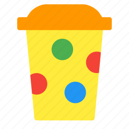 coffee, cup, drink, juice, paper, takeaway icon