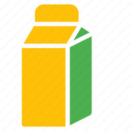 box, can, carton, drink, juice, milk icon