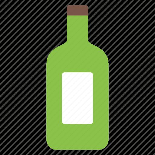 alcohol, bottle, drink, liquor, wine icon