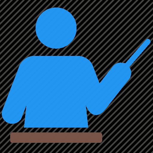 education, instructor, school, study, teach, teacher, teaching icon