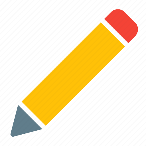 edit, education, learn, pen, pencil, study, write icon