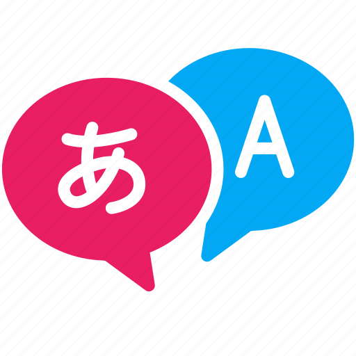 bubble, conversation, education, language, school, talk, translate icon