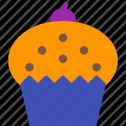 cake, cupcake, dessert, food, muffin, sweet icon
