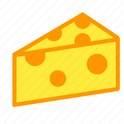 cheese, cook, eat, food, meal, piece icon