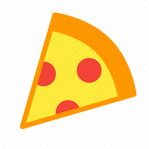 eat, fastfood, food, meal, piece, pizza icon