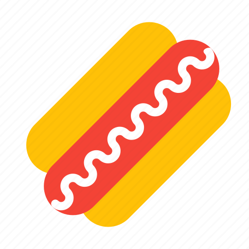 dish, eat, fastfood, food, hotdog, meal, sausage icon