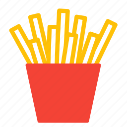 chips, dish, fastfood, food, fries, fry, potato icon