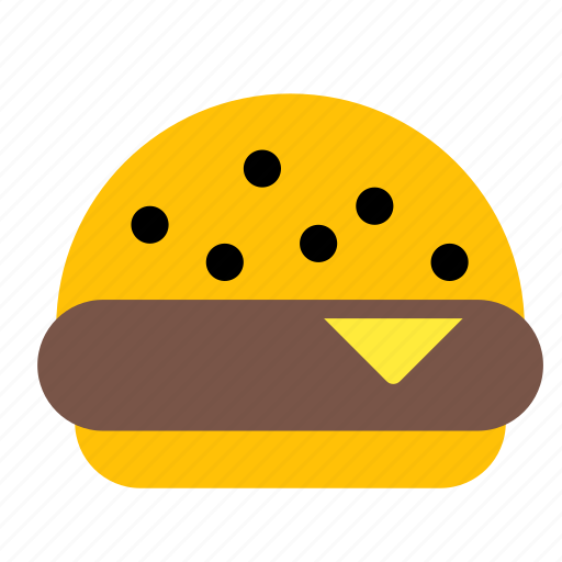 beef, cake, eat, fastfood, food, hamburger, meal icon