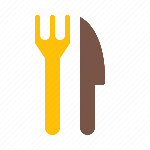 eat, folk, food, knife, outing, restaurant icon