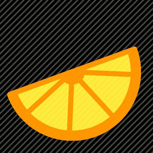 citrus, food, lemon, lime, orange, slice icon