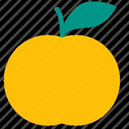 citrus, food, lemon, lime, mandarin, orange icon