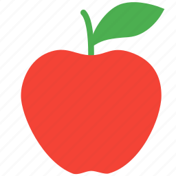 apple, food, fruit, plant, tree icon