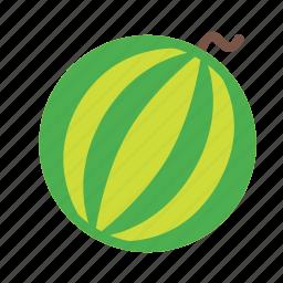 food, fruit, plant, tree, watermelon icon