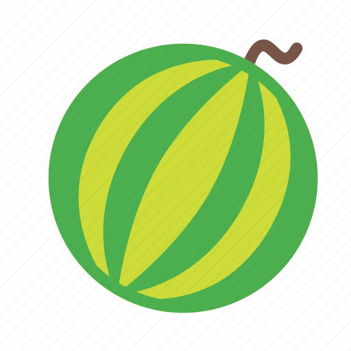 food, fruit, plant, tree, watermelon icon
