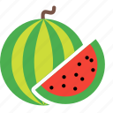 food, fruit, plant, slice, tree, watermelon icon
