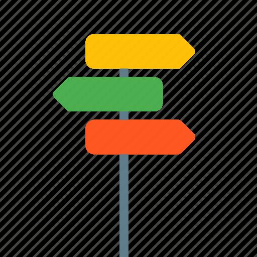 arrow, direction, location, map, street icon