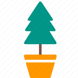 flowerpot, garden, nature, plant, pot, tree icon