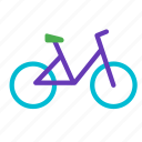 bicycle, bike, traffic, transport, vehicle, workout icon