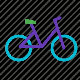 bicycle, bike, traffic, transport, vehicle, workout icon