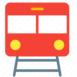 railroad, railway, subway, train, transport icon
