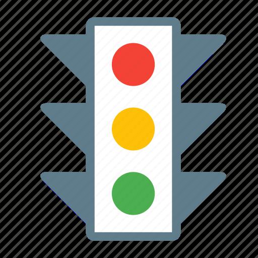 Crosswalk, light, road, street, traffic, transport icon - Download on Iconfinder