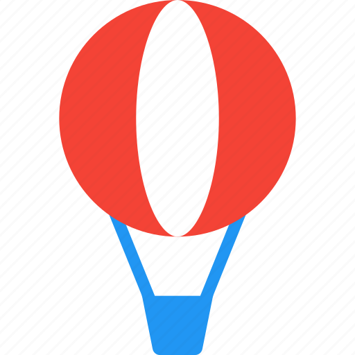 air, balloon, flight, hot, sky, transport, travel icon