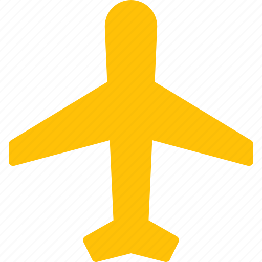 aircraft, airplane, flight, mode, on, transport, travel icon