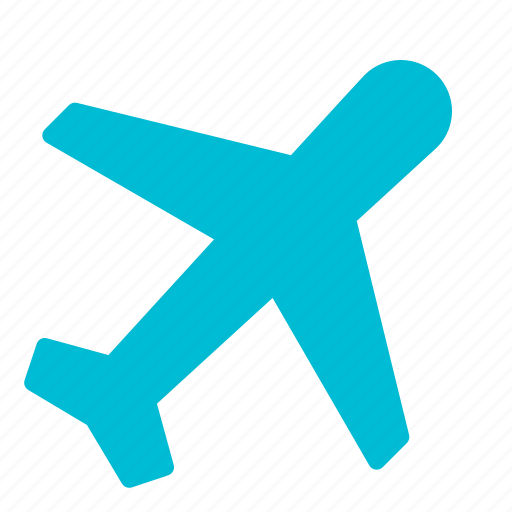 aircraft, airplane, flight, transport, travel icon