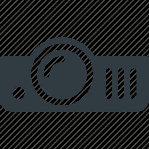 movie, presentation, project, projector, video icon