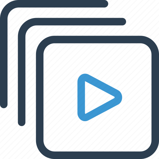 file, film, movie, play, type, video, watch icon