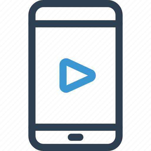 film, movie, phone, play, player, show, video icon