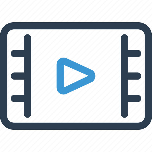 film, movie, play, player, tv, video, watch icon