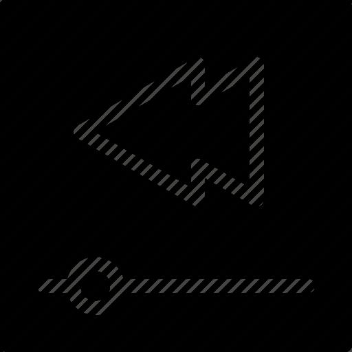 arrow, audio, box, camera, cinema, control, creative, film, grid, left, media, movie, multimedia, music, play-bar, player, round, shape, video icon