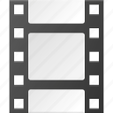 clip, film, media, movie, strip icon
