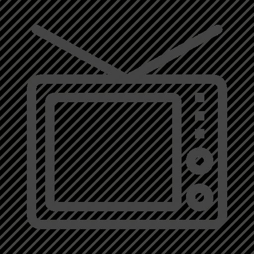 media, movie, multimedia, music, play, tv, video icon