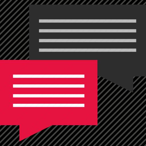 bubble, chat, mobile, online icon